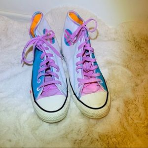 Converse They/Them Pride Blue/Pink White High top
